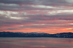 """Sunset at Lake Tahoe 21"" - This sunset at Lake Tahoe was photographed from the vista point on Hwy  431, or Mount Rose Highway."