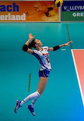 06-04-2017 NED:  CEV U18 Europees Kampioenschap vrouwen dag 5, Arnhem<br /> Nederland verliest met 3-1 van Italie en speelt voor de plaatsen 5-8 / Elena Pietrini #12