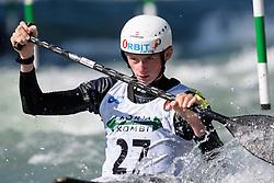 Leon HANIKA of Germany during the Canoe Single (C1) Men SemiFinal race of 2019 ICF Canoe Slalom World Cup 4, on June 28, 2019 in Tacen, Ljubljana, Slovenia. Photo by Sasa Pahic Szabo / Sportida