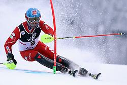 06.01.2015, Sljeme, Zagreb, CRO, FIS Weltcup Ski Alpin, Zagreb, Herren, Slalom, 1. Lauf, im Bild Patrick Thaler (ITA) // Patrick Thaler of Italy in action during 1st run of men's Slalom of FIS Ski Alpine Worldcup at the Sljeme in Zagreb, Croatia on 2015/01/06. EXPA Pictures © 2015, PhotoCredit: EXPA/ Pixsell/ Goran Stanzl<br /> <br /> *****ATTENTION - for AUT, SLO, SUI, SWE, ITA, FRA only*****