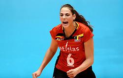 10-08-2014 NED: FIVB Grand Prix Belgie - Puerto Rico, Doetinchem<br /> Charlotte Leys