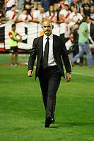 Rayo Vallecano´s coach Paco Jemez  during 2014-15 La Liga match at Vallecas stadium. August 25, 2014. (ALTERPHOTOS/Victor Blanco)