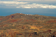 View of the Observatorio del Teide, Tenerife, Spain