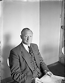 1956 - Mr. Lawrence Lynch, Senior Secretary, Road Transport Association