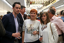 Team from guest house Repovz (Sentjanz) at International wine festival Top Vino by eVino.si, on October 17, 2016 in Cankarjev Dom, Ljubljana, Slovenia. Photo by Matic Klansek Velej / Sportida