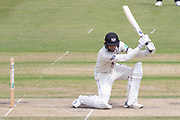 Jack Taylor batting during the Specsavers County Champ Div 2 match between Gloucestershire County Cricket Club and Leicestershire County Cricket Club at the Cheltenham College Ground, Cheltenham, United Kingdom on 17 July 2019.