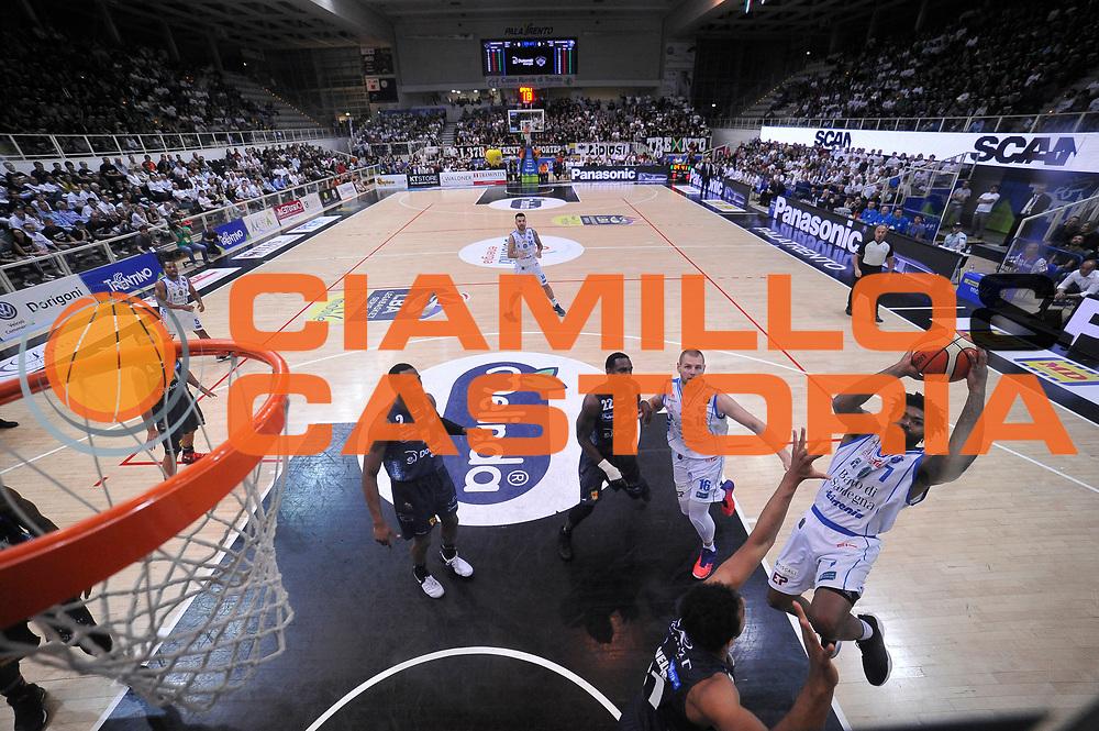 Lacey Trevor<br /> Quarti di Finale Gara 2<br /> Legabasket A 2016,2017<br /> Trento 14/05/2017<br /> Foto Ciamillo-Castoria,GiulioCiamillo
