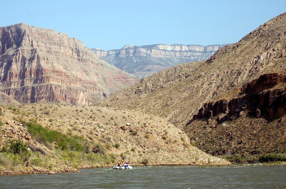 Rafting along the Colorado River, Grand Canyon National Park, Arizona Raft Adventures