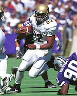 Colorado runningback Chris Brown (22) during game action against Kansas State at KSU Stadium in Manhattan, Kansas in 2001.