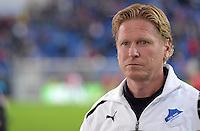 Fussball 1. Bundesliga 2012/2013: Relegation  Bundesliga / 2. Liga  TSG 1899 Hoffenheim  - 1. FC Kaiserslautern          23.05.2013 Trainer Markus Gisdol (TSG 1899 Hoffenheim)