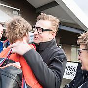 NLD/Biddinghuizen//20170305 - De Hollandse 100 - Stichting Lymph & Co 2017, Prinses Margriet begroet haar zoon Pieter Christiaan  en Prins Bernhard