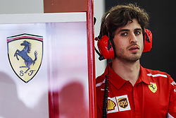 April 28, 2018 - Baku, Azerbaijan - GIOVINAZZI Antonio (ita), reserve driver Scuderia Ferrari SF71H, portrait during the 2018 Formula One World Championship, Grand Prix of Europe in Azerbaijan from April 26 to 29 in Baku  (Credit Image: © Hoch Zwei via ZUMA Wire)