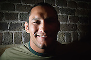 "A portrait of mixed martial arts athlete Dan ""Hendo"" Henderson"