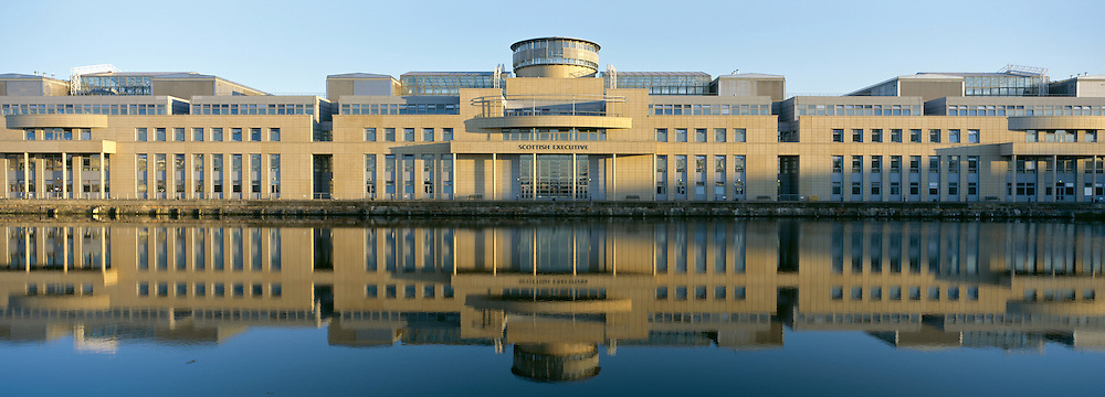 Scottish Government Building in Leith, Edinburgh