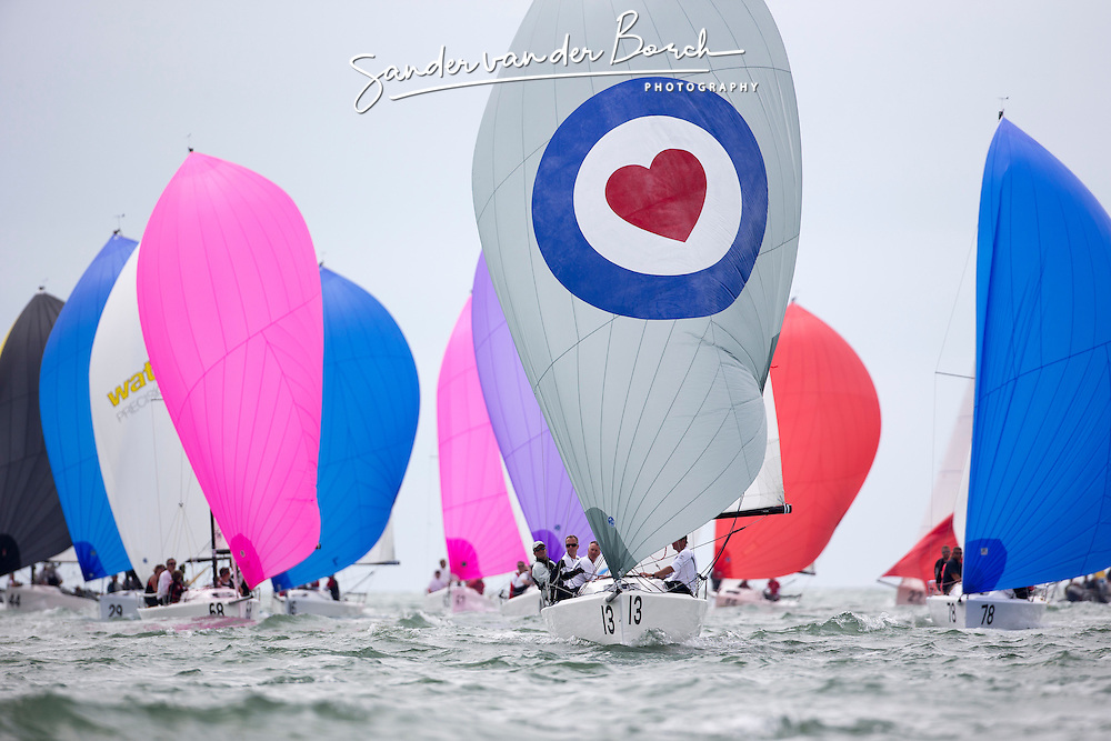 Practice day of the J70 Worlds 2015 in La Rochelle, Sailing Anarchy and Sperry Top-Sider J70 Worlds coverage 2015, La Rochelle, France. July 7th 2015. Photo © Sander van der Borch.