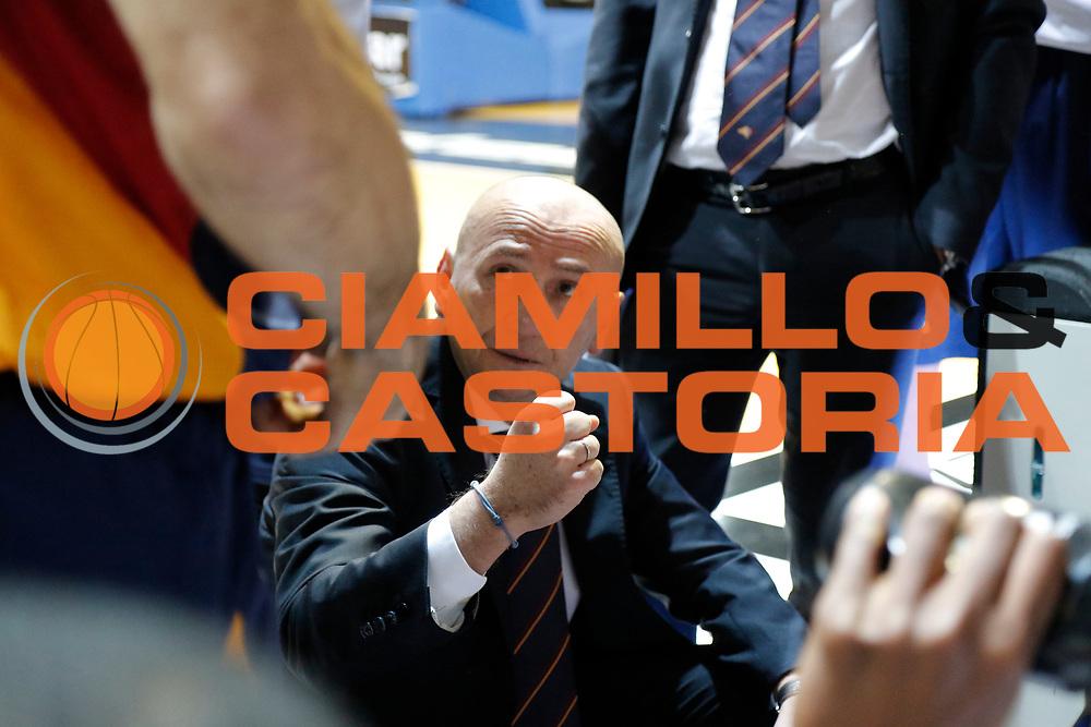 DESCRIZIONE : Caserta Lega A 2014-15 Pasta Reggia Caserta Acea Virtus Roma<br /> GIOCATORE : Luca Dalmonte<br /> CATEGORIA : timeout<br /> SQUADRA : Acea Virtus Roma<br /> EVENTO : Campionato Lega A 2014-2015<br /> GARA : Pasta Reggia Caserta Acea Virtus Roma<br /> DATA : 25/01/2015<br /> SPORT : Pallacanestro <br /> AUTORE : Agenzia Ciamillo-Castoria/A. De Lise<br /> Galleria : Lega Basket A 2014-2015 <br /> Fotonotizia : Caserta Lega A 2014-15 Pasta Reggia Caserta Acea Virtus Roma