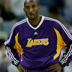 12 November 2008:  Los Angeles Lakers guard Kobe Bryant during a 93-86 win by the Los Angeles Lakers over the New Orleans Hornets at at the New Orleans Arena in New Orleans, LA..