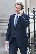 Health Secretary Jeremy Hunt arrives for Cabinet at Downing Street, London<br /> Picture by Paul Davey/Focus Images Ltd +447966 016296<br /> 16/03/2016