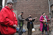 15 March 2013 - Brooklyn, NY. Singer/songwriter Shanimal dedicated a song to her friend and fellow artist Arthur Wood at the Broken Angel Block Party, an event organized to raise money for his legal fees and a new home. 03/15/13 - Photograph by Regina Michelle/The Local