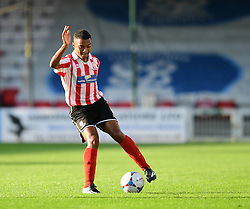 Lincoln City's Ryley Thompson<br /> <br /> Lincoln City under 18s Vs Leicester City under 18s at Sincil Bank, Lincoln.<br /> <br /> Picture: Chris Vaughan/Chris Vaughan Photography<br /> <br /> Date: July 28, 2016