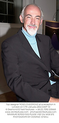 Top designer ROSS LOVEGROVE at a reception in London on 17th January 2002.	OWP 10