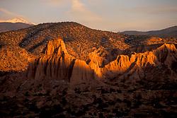 Landscape of Rock Formations Outside of Santa Fe