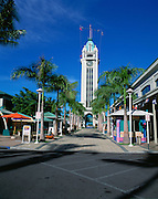 Aloha Tower Market Place, Honolulu, Hawaii, USA<br />