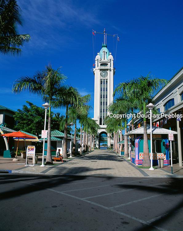 Aloha Tower Market Place, Honolulu, Hawaii, USA<br />