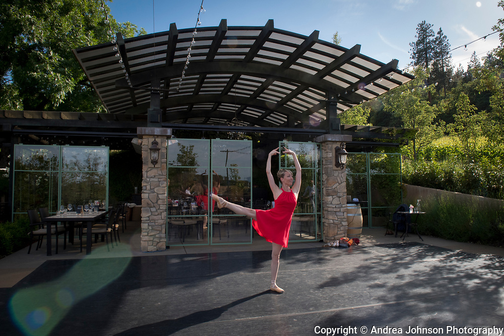 Dancin Vineyards near Jacksonville,  Rogue Valley AVA, Southern Oregon