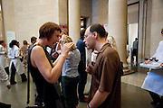 CORNELIA PARKER; DARREN LEADER, Tate Britain Summer Party 2009. Millbank. London. 29 June 2009