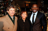 Andrew Wilkinson, Audrey Hoare, and Noah Stewart, Nordoff Robbins Carol Service  2011 sponsored by Coutts. London..Wednesday, 14. Dec 2011