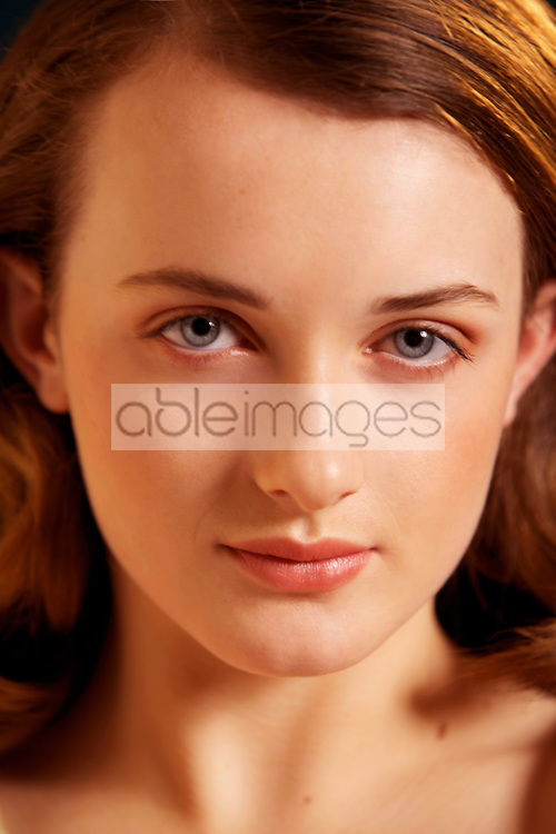 Close up of Teenage Girl