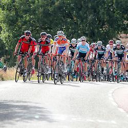 30-09-2016: Wielrennen: Olympia Tour: Zutphen  <br />ZUTPHEN (NED) wielrennen  <br />Daan Schouten op de voorste rij naast de mannen van BMC