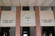 Wisconsin USA, The Golda Meir library at the university of Wisconsin in Milwaukee, November 2006