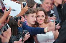 """Angelina Jolie during the premiere for """"World War Z"""" in Berlin, Germany,  04 June 2013. Photo by Agentur Schneider-Press / SA / Frau / i-Images. <br /> UK & USA ONLY"""