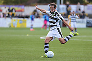 Forest Green Rovers Darren Carter(12) shoots at goal during the The FA Cup 4th qualifying round match between Sutton United and Forest Green Rovers at Gander Green Lane, Sutton, United Kingdom on 15 October 2016. Photo by Shane Healey.