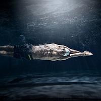 Brendan Van Herk of the 2019 Regina Cougars Swimming team.