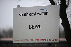 © Licensed to London News Pictures.08/01/2018<br /> BEWL WATER, UK.<br /> Southern water seeks drought permit to top up Bewl Water reservoir due to low rainfall in the winter of 2016-17.<br />  The reservoir near Lamberhurst in Kent supplies water to homes across Kent and East Sussex. <br /> Photo credit: Grant Falvey/LNP