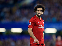 LONDON, ENGLAND - Saturday, September 29, 2018: Liverpool's Mohamed Salah during the FA Premier League match between Chelsea FC and Liverpool FC at Stamford Bridge. (Pic by David Rawcliffe/Propaganda)