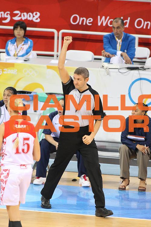 DESCRIZIONE : Beijing Pechino Olympic Games Olimpiadi 2008 Women Semifinal Russia Usa<br /> GIOCATORE : Luigi Lamonica<br /> SQUADRA : <br /> EVENTO : Olympic Games Olimpiadi 2008<br /> GARA : Russia Usa<br /> DATA : 21/08/2008 <br /> CATEGORIA : Referee<br /> SPORT : Pallacanestro <br /> AUTORE : Agenzia Ciamillo-Castoria/G.Ciamillo<br /> Galleria : Beijing Pechino Olympic Games Olimpiadi 2008 <br /> Fotonotizia : Beijing Pechino Olympic Games Olimpiadi 2008 Women Semifinal Russia Usa<br /> Predefinita :