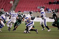 Trinity (Louisville) hosted Simon Kenton in the Class 6A KHSAA Commonwealth Gridiron Bowl on Saturday, Dec. 13, 2008, at Papa John's Cardinal Stadium in Louisville, Ky.(photo by Jonathan Palmer)