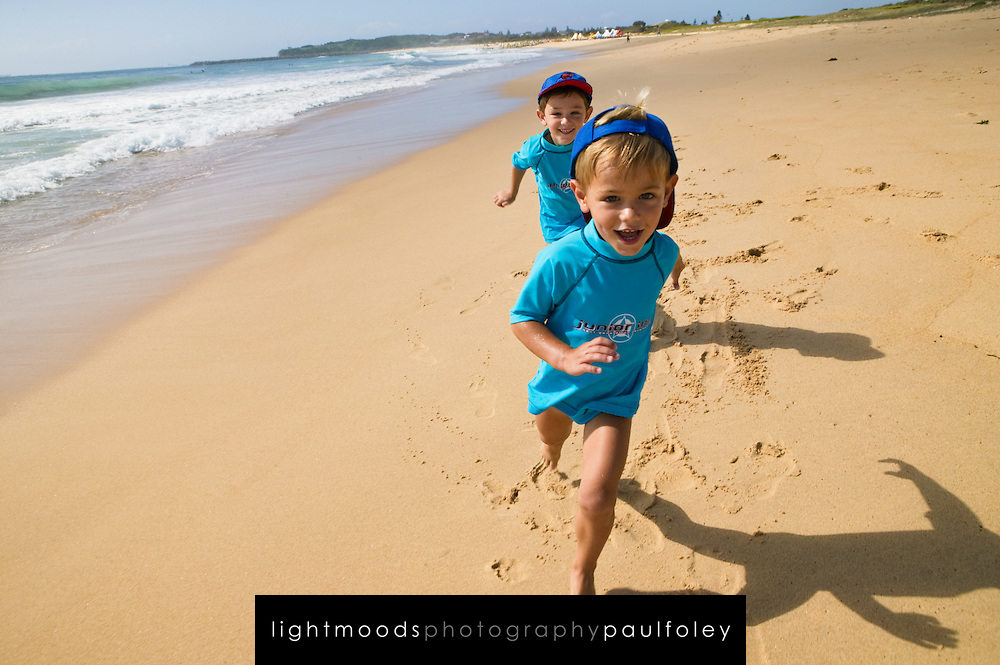 Beach fun, East Coast Australia
