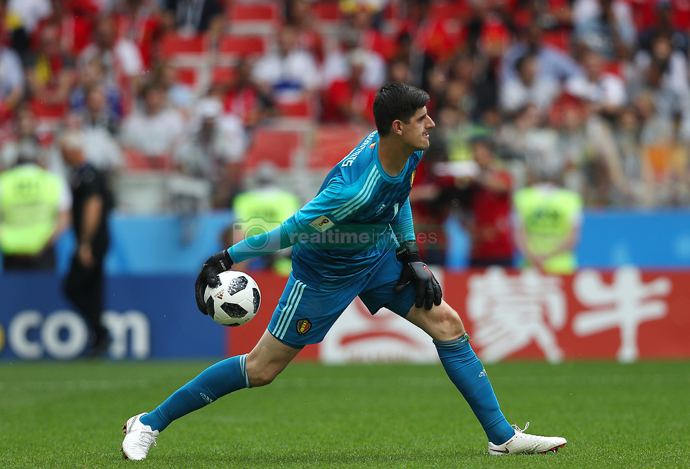 June 23, 2018 - Moscou, Rússia - MOSCOU, MO - 23.06.2018: BÉLGICA Y TÚNEZ - Thibaut COURTOIS of Belgium during the match between Belgium and Tunisia valid for the 2018 World Cup held at the Otkrytie Arena (Spartak) in Moscow, Russia. (Credit Image: © Rodolfo Buhrer/Fotoarena via ZUMA Press)
