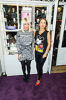 *, Sam and Billie Faiers - signing, Casio, Covent Garden, London UK, 06 December 2013, Photo by Raimondas Kazenas