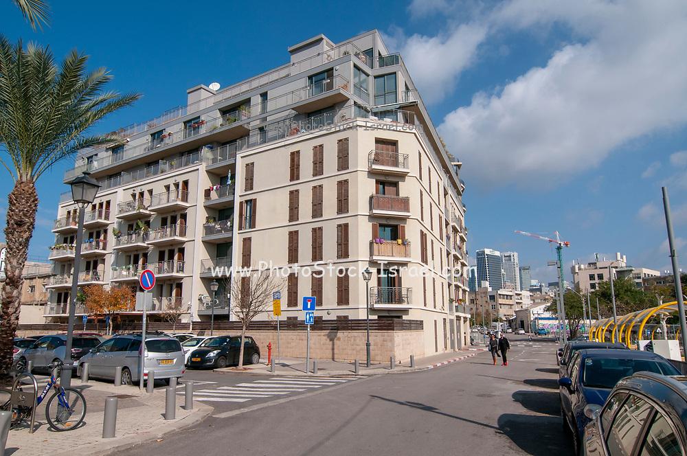 New modern housing development project In the American Colony Neighborhood, In Jaffa, Tel Aviv, Israel