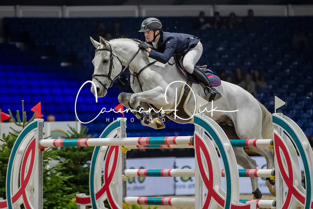 Vermeiren Dieter, BEL, Kingston Town 111 Z<br /> Jumping Mechelen 2019<br /> © Hippo Foto - Dirk Caremans<br />  26/12/2019