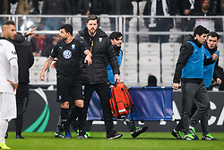 December 13, 2018 - Istanbul, Turkey - 181213 Behrang Safari of MalmÅ¡ FF leaves the pitch after injury during the Europa league match between Besiktas and MalmÅ¡ FF on December 13, 2018 in Istanbul..Photo: Petter Arvidson / BILDBYRN / kod PA / 92175 (Credit Image: © Petter Arvidson/Bildbyran via ZUMA Press)