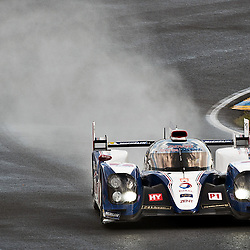 LMP1-TOYOTA RACING, Toyota TS030 - Hybrid, Hybrid, Drivers, Alexander Wurz (AUT), Nicolas Lapierre (FRA),Kazuki Nakajima (JPN).<br /> Image taken during free practice and qualifying at the 90th Le Mans 24hrs at the Circuit de la Sarthe, Le Mans, France on the 20th June 2013.<br /> <br /> WAYNE NEAL | SPORTPIX.ORG.UK