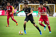 LAFC forward Diego Rossi (9) in action during an MLS soccer game between the LAFC and the Toronto FC. LAFC and Toronto FC tied 1-1 on Saturday, Sept 21, 2019, in Los Angeles. (Ed Ruvalcaba/Image of Sport)