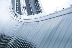 01.01.2018, Olympiaschanze, Garmisch Partenkirchen, GER, FIS Weltcup Ski Sprung, Vierschanzentournee, Garmisch Partenkirchen, Wertungsdurchgang, im Bild David Siegel (GER) // David Siegel of Germany during the Competition Jump for the Four Hills Tournament of FIS Ski Jumping World Cup at the Olympiaschanze in Garmisch Partenkirchen, Germany on 2018/01/01. EXPA Pictures © 2018, PhotoCredit: EXPA/ JFK